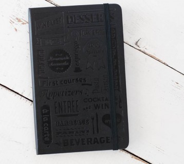 Moleskine Restaurant Journal - Makes the perfect gift for your favorite foodie! - from Blue Sky Papers