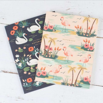 Rifle Birds of a Feather Notebooks - Set of 2 - from Blue Sky Papers