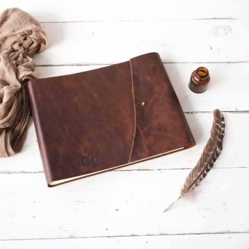 Rugged Leathercraft Book - tough and durable functionality, well balanced by a soft, refined feel - by Blue Sky Papers