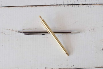 Silver and Gold Pens - great for everyday use