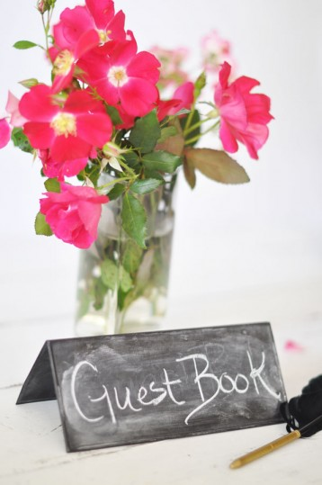 Chalkboard Table Signs - Horizontal