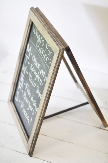Table Top A-Frame Chalkboard