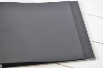"Black Page Refill for 12"" x 12"" Black Page Photo Album"