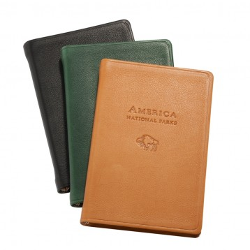 Leather America Book - Black, Hunter Green, British Tan- from Blue Sky Papers