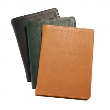 Leather Traveler's Atlas - from Blue Sky Papers