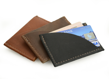 Rustic Credit Card Sleeves