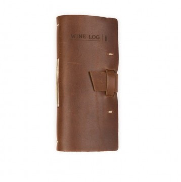 Rustic Wine Log - Saddle - from Blue Sky Papers
