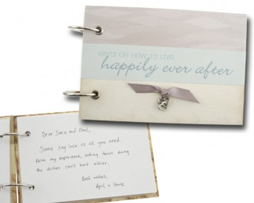 Wedding Advice Book - Happily Ever After