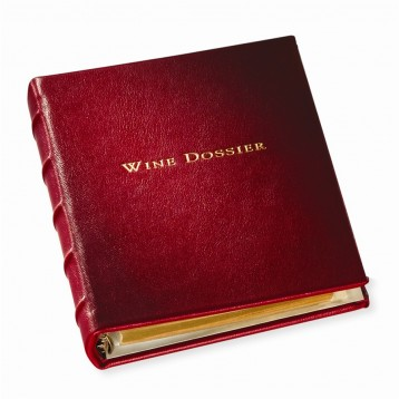 Garnet Leather Wine Dossier