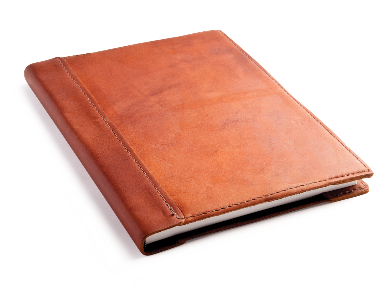 Leather Book Cover Ideas ~ Rustic leather sketchbook an elegant way to store your