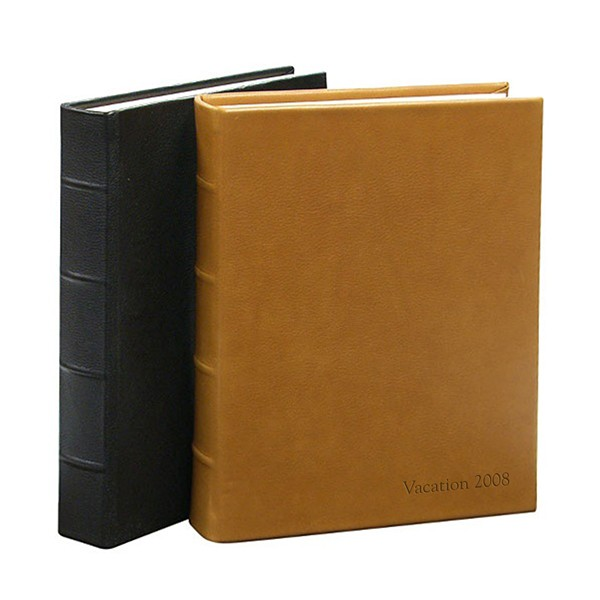 Library Bound Leather Photo Album