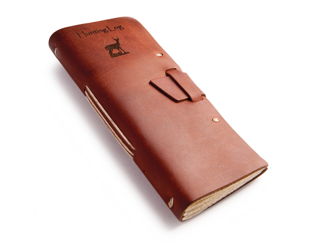 Megarainbowdash2000 S Journal: Rustic Leather Hunting Journal, A Must Have For The Rugged