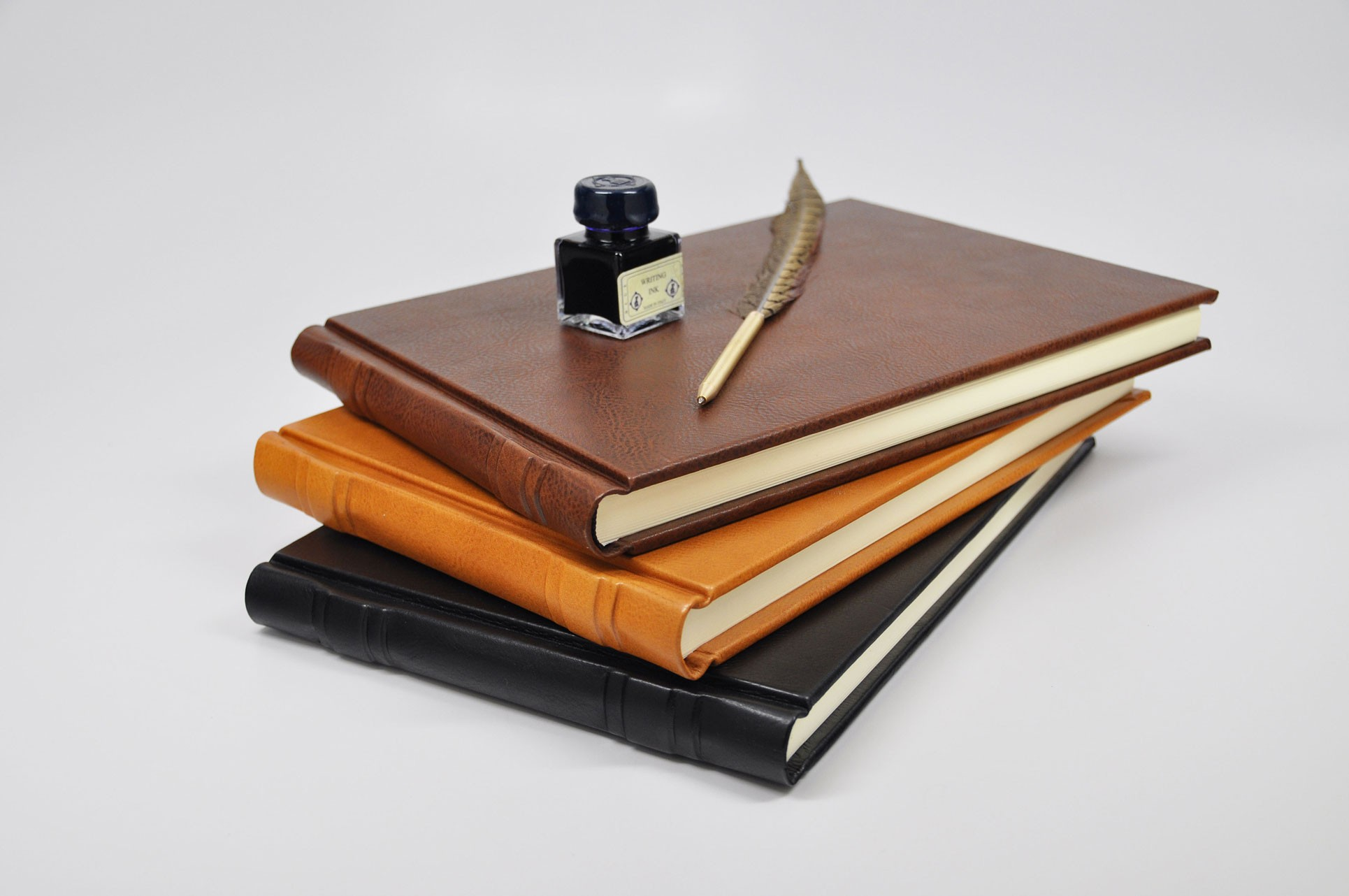 Italian Leather Guestbook