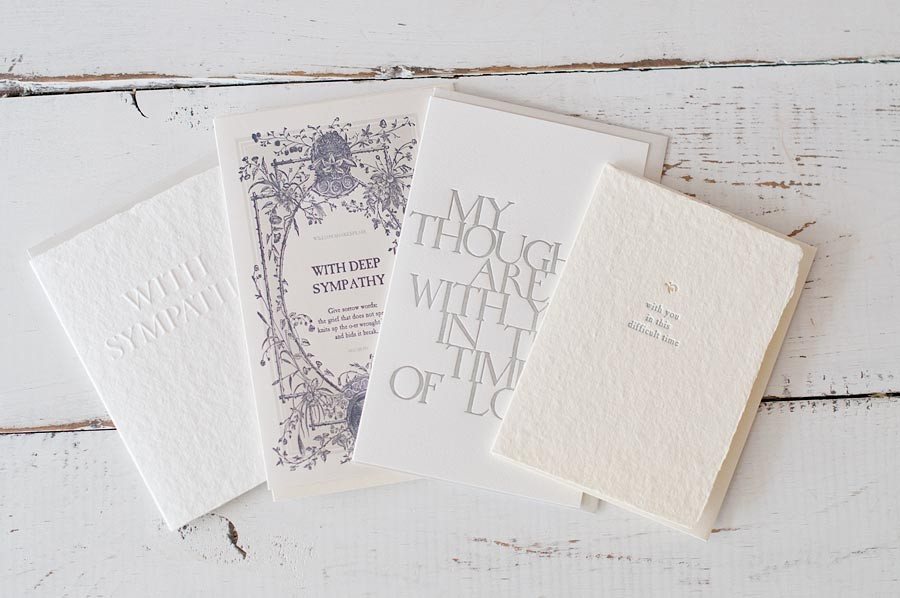 oblation sympathy cards available in four designs - Sympathy Cards