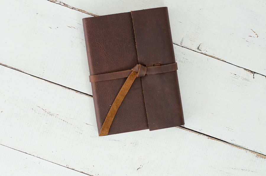 Leather Rustic Journal By Blue Sky Papers