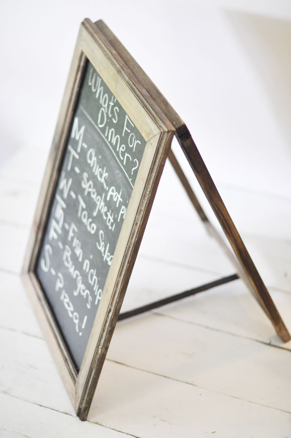Nice ... Table Top A Frame Chalkboard
