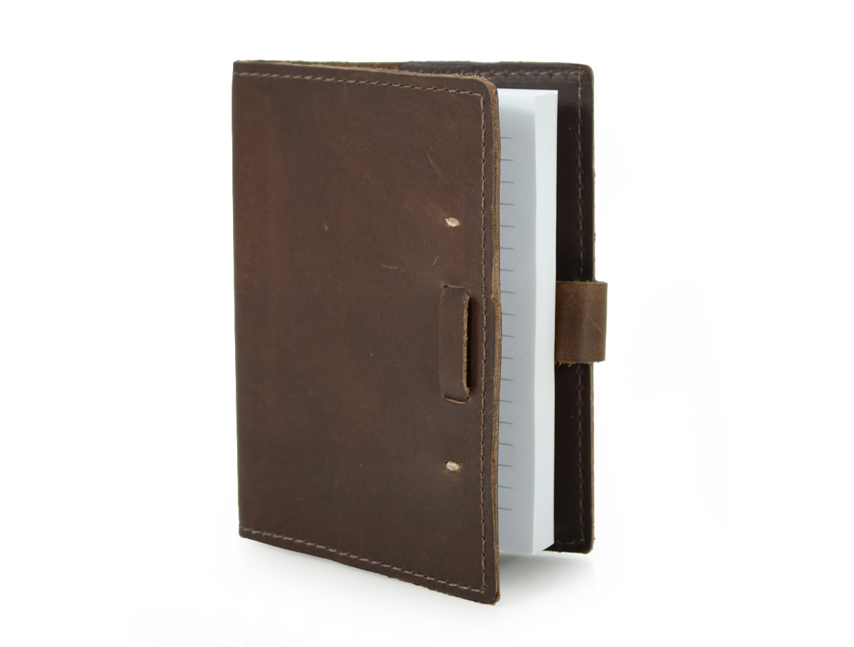 Rustic Leather Refillable Writing Journal The Wasatch