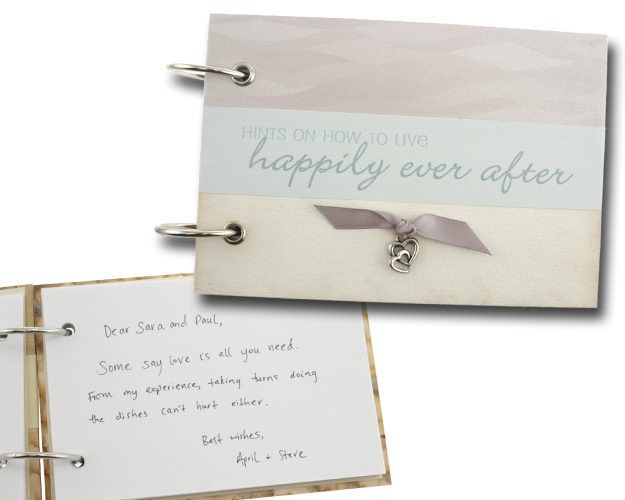 Wedding Advice Book Hily Ever After