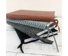 Braided Leather Spine Journal