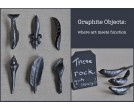 Carved Graphite Objects - Art + Pencil