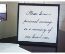 Guest Book Table Sign