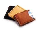 Rustic Leather Money Clip