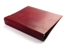 Rustic Leather Binder Cover