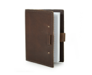 "Rustic Leather Refillable Writing Journal - ""The Wasatch"""