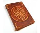 Fleur-de-Lis Leather Journal