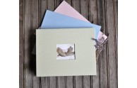 Baby Shower Keepsake Guest Book - Baby Shower Guest Book - in 3 most popular colors!