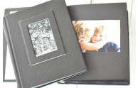 Black Page Frame Front Photo Album
