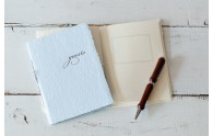 Letterpress Guest Books  - Front Page box