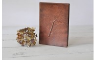 Leather Laurel Leaf Journal - from Blue Sky Papers
