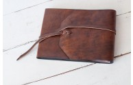 Italian Leather Artists Sketchbook - from Blue Sky Papers