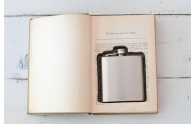 Flask Book Box - cute and clever hidden flask book box