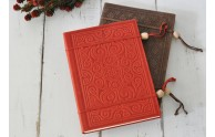 Embossed Italian Leather Sketchbooks