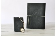 Constellation Leather Sketchbook - pocket journal and leather sketchbook - by Blue Sky Papers