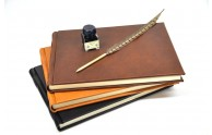 Italian Leather Guest Book