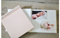 Ribbon Bound Baby Memory Album