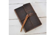 Leather Rustic Journal - by Blue Sky Papers