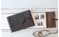 Leather Artisan Books - perfect for instax mini prints- by Blue Sky Papers