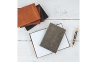 Soft Leather Journals  -  handmade by Blue Sky Papers