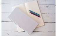 Natural Linen Sketchbook - great for sketching! or writing