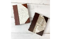 Old Italian Leather Journals - by Blue Sky Papers