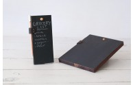 Peg and Awl Reclaimed Wood Chalkboard Tablet and Pad