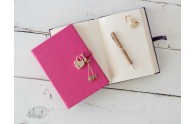 Heart Lock Diary - Pink - Blue Sky Papers