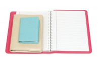 Leatherette Refillable Notebook