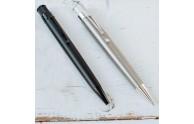 Retro 51 Titanium Rollerball Pen - Stealth Matte & Titanium