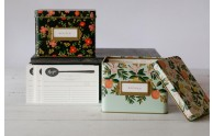 Rifle Paper Co Recipe Box - vintage inspired recipe boxes