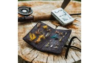Rustic Book of Fishing Flies - flies not included